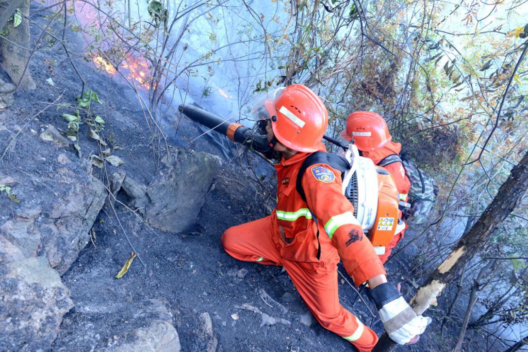 森林消防员在陡峭山坡迅速扑灭火头3.png